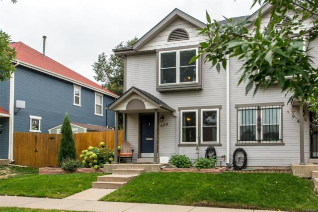 470 W 4th Avenue, Denver, CO 80223 (#7996674) :: The HomeSmiths Team - Keller Williams