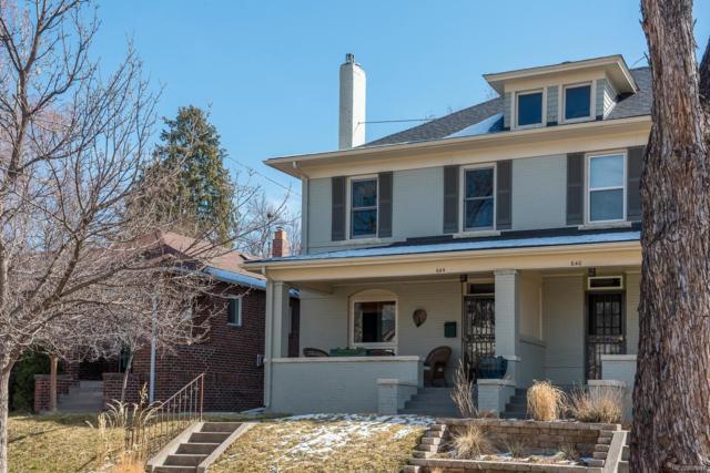 644 Gilpin Street, Denver, CO 80218 (#8001060) :: Colorado Home Finder Realty