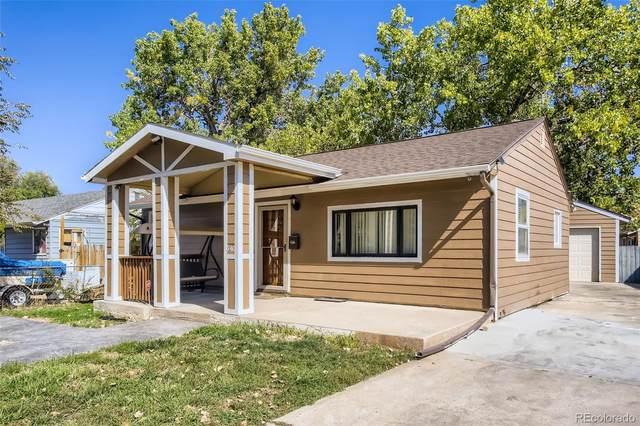 540 S Xavier Street, Denver, CO 80219 (#8002888) :: The Griffith Home Team