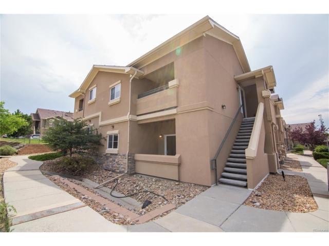 4541 Copeland Loop #104, Highlands Ranch, CO 80126 (MLS #8004510) :: 8z Real Estate