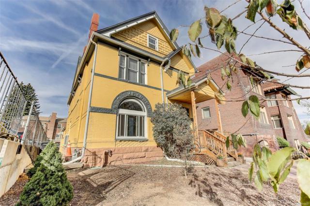 1453 N Williams Street, Denver, CO 80218 (#8007002) :: House Hunters Colorado