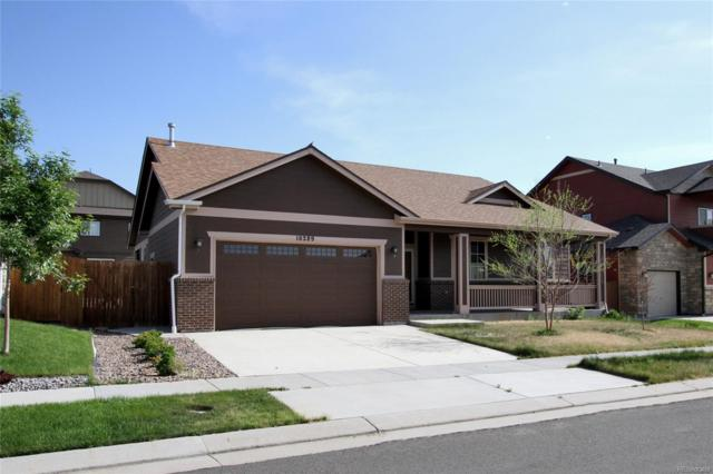 16289 E 99th Way, Commerce City, CO 80022 (#8010268) :: The Griffith Home Team