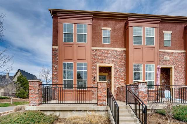 535 Elmhurst Way A, Highlands Ranch, CO 80129 (#8014715) :: The Dixon Group