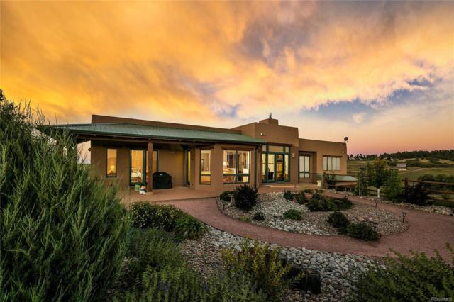 9811 Oak Springs Trail, Franktown, CO 80116 (#8015137) :: Colorado Home Realty