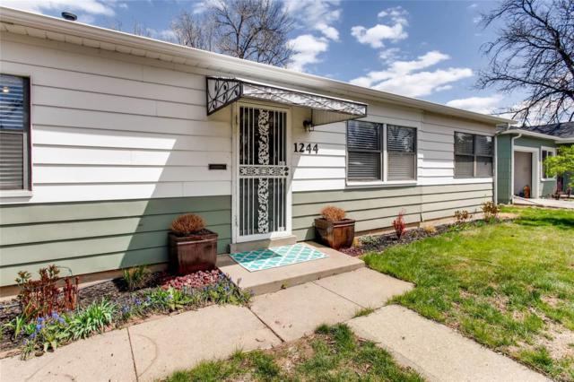 1244 Spruce Street, Denver, CO 80220 (#8015589) :: The Pete Cook Home Group