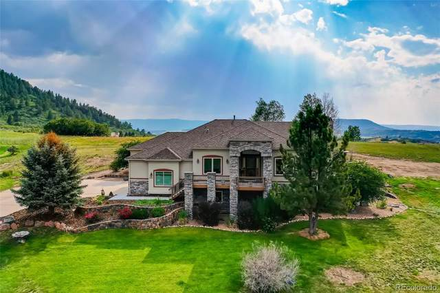 4581 High Spring Road, Castle Rock, CO 80104 (#8015621) :: The Gilbert Group