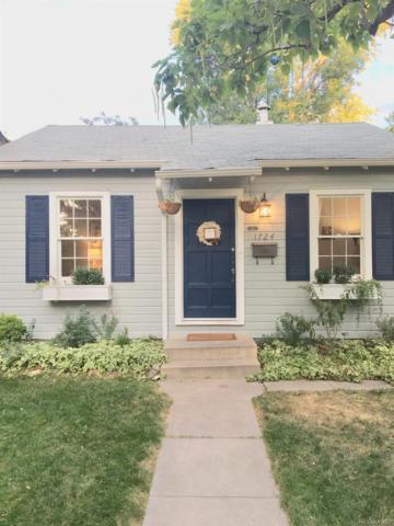 1724 S Corona Street, Denver, CO 80210 (#8016886) :: Wisdom Real Estate