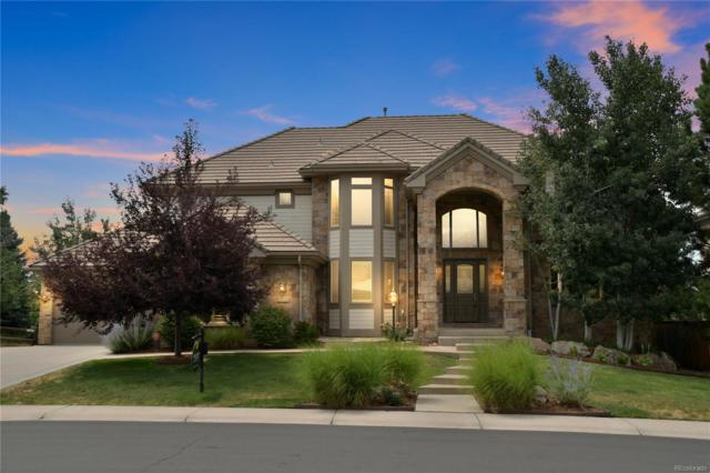 9525 S Shadow Hill Circle, Lone Tree, CO 80124 (#8017333) :: The Galo Garrido Group