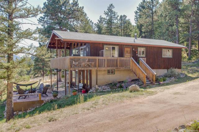 386 Chute Road, Golden, CO 80403 (MLS #8017403) :: 8z Real Estate