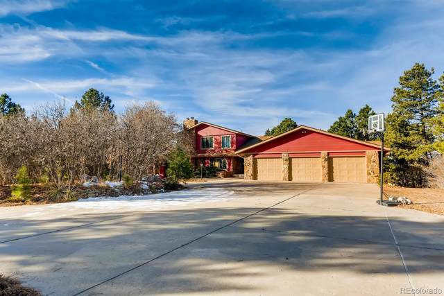 1658 Woodhaven Drive, Franktown, CO 80116 (#8018770) :: The DeGrood Team
