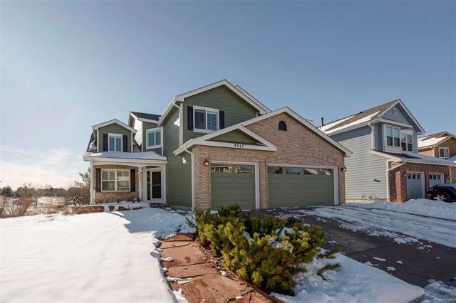 9847 Spring Hill Lane, Highlands Ranch, CO 80129 (#8018796) :: The Peak Properties Group