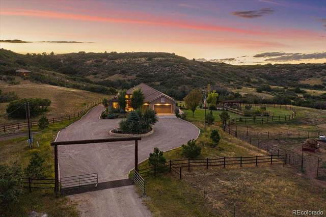 5285 E State Highway 86, Franktown, CO 80116 (#8022427) :: The DeGrood Team