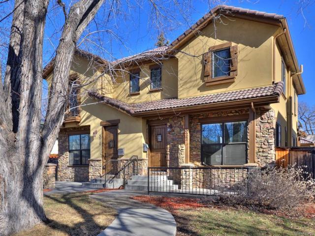 322 S Ogden Street, Denver, CO 80209 (#8025281) :: Real Estate Professionals