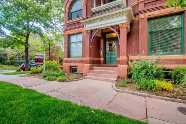 1001 E 17th Avenue #3, Denver, CO 80218 (MLS #8025366) :: Keller Williams Realty