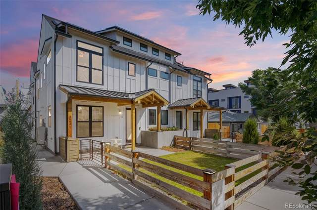 3221 W 19th Avenue #3, Denver, CO 80204 (#8026016) :: The Griffith Home Team