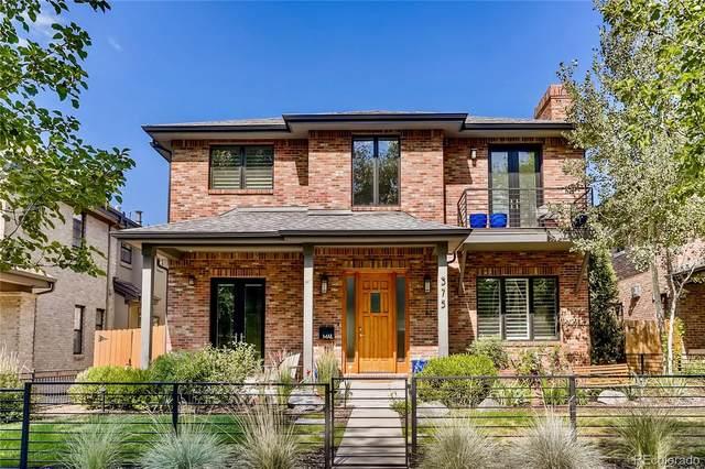 375 S Race Street, Denver, CO 80209 (#8029786) :: Real Estate Professionals