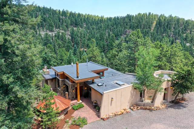 30134 Upper Bear Creek Road, Evergreen, CO 80439 (#8029877) :: The Harling Team @ Homesmart Realty Group