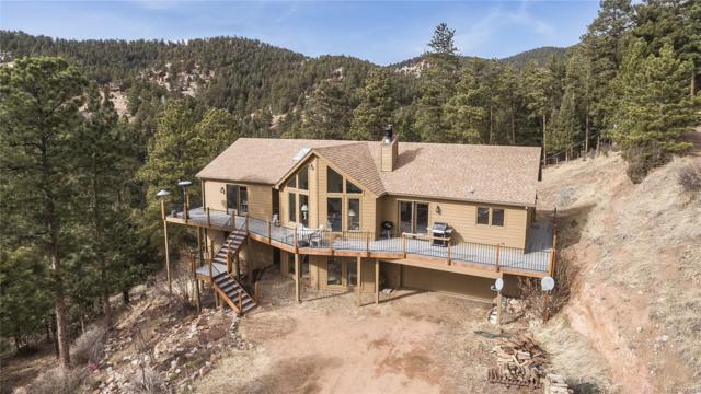 13719 Elsie Road, Conifer, CO 80433 (MLS #8029912) :: 8z Real Estate