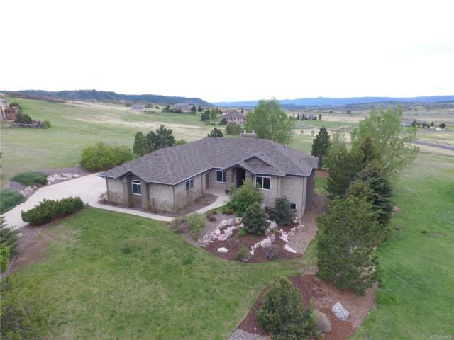 3509 Winterhawk Circle, Castle Rock, CO 80104 (#8030097) :: The Thayer Group