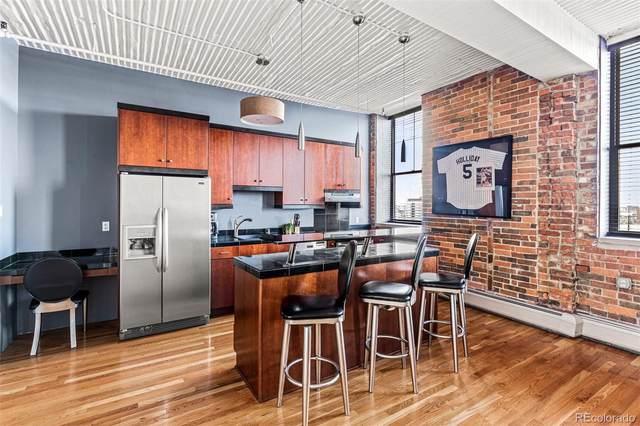 2261 Blake Street 4F, Denver, CO 80205 (#8030935) :: Finch & Gable Real Estate Co.