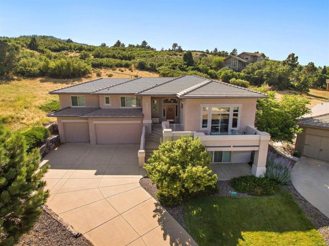 6439 Eagle Feather Trail, Littleton, CO 80125 (#8035846) :: The Tamborra Team