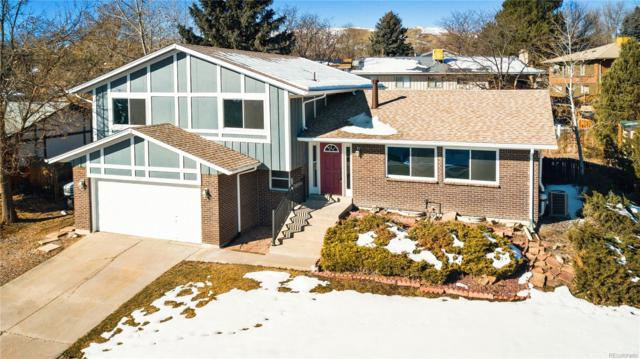 1431 S Ward Court, Lakewood, CO 80228 (#8037210) :: House Hunters Colorado