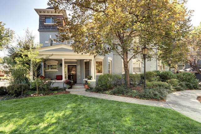 101 S Downing Street #1, Denver, CO 80209 (#8044224) :: Real Estate Professionals