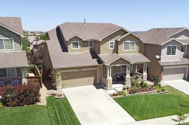 16583 E Prairie Wind Avenue, Parker, CO 80134 (#8044700) :: The Heyl Group at Keller Williams