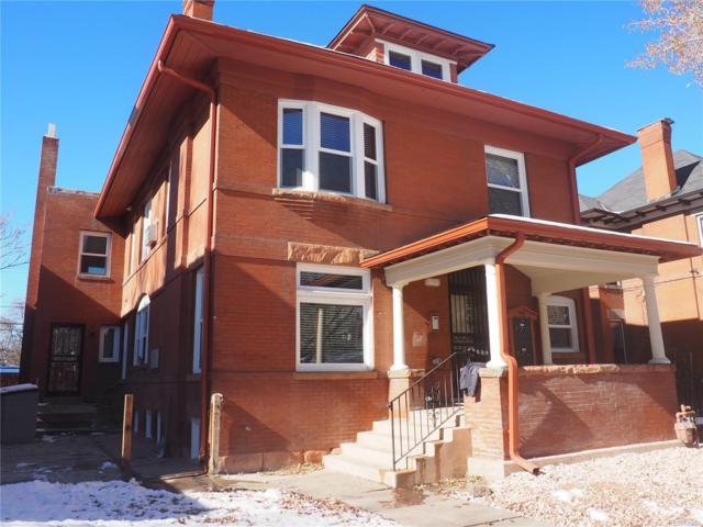 211 N Sherman Street, Denver, CO 80203 (#8046013) :: The Heyl Group at Keller Williams