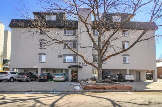 336 N Grant Street #411, Denver, CO 80203 (#8047215) :: The Heyl Group at Keller Williams