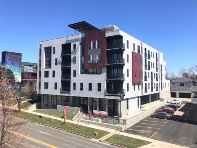2374 S University Boulevard #214, Denver, CO 80210 (MLS #8048617) :: Keller Williams Realty