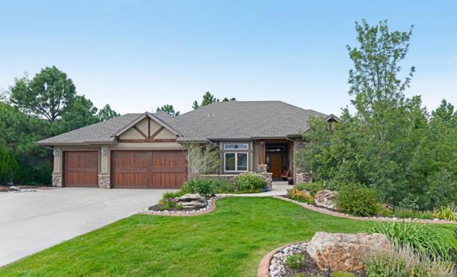 1319 Woodmont Way, Castle Pines, CO 80108 (#8051836) :: The Peak Properties Group