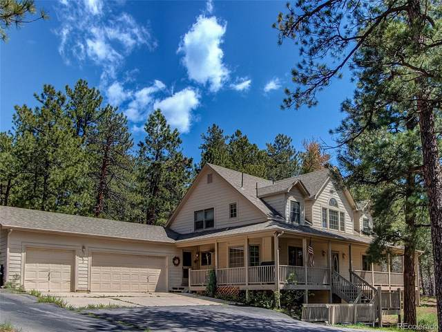4305 Red Rock Drive, Larkspur, CO 80118 (#8053132) :: The Harling Team @ Homesmart Realty Group