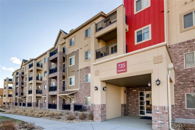 725 Elmhurst Drive #305, Highlands Ranch, CO 80129 (MLS #8053300) :: 8z Real Estate