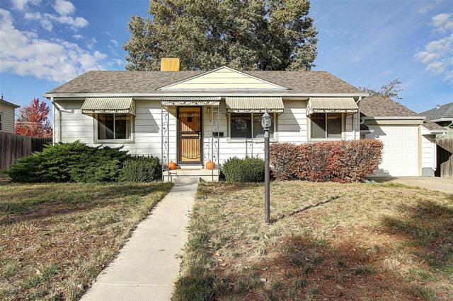 925 Florence Street, Aurora, CO 80010 (#8057081) :: Bring Home Denver