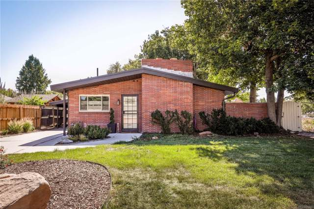 1820 E Yale Avenue, Denver, CO 80210 (#8060939) :: True Performance Real Estate