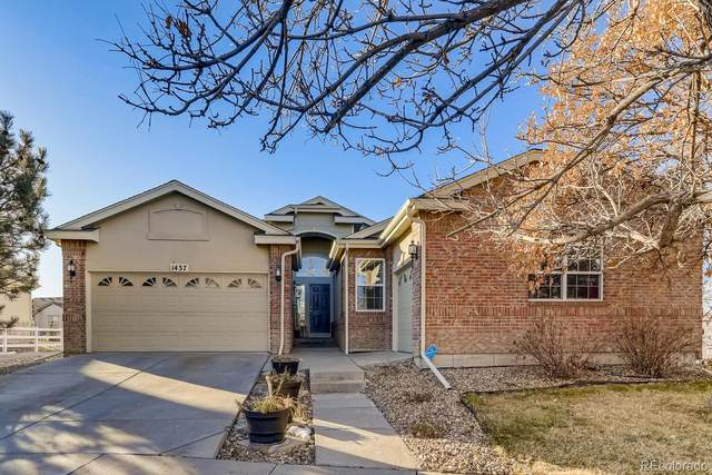 1437 S Haleyville Circle, Aurora, CO 80018 (#8066683) :: The Dixon Group