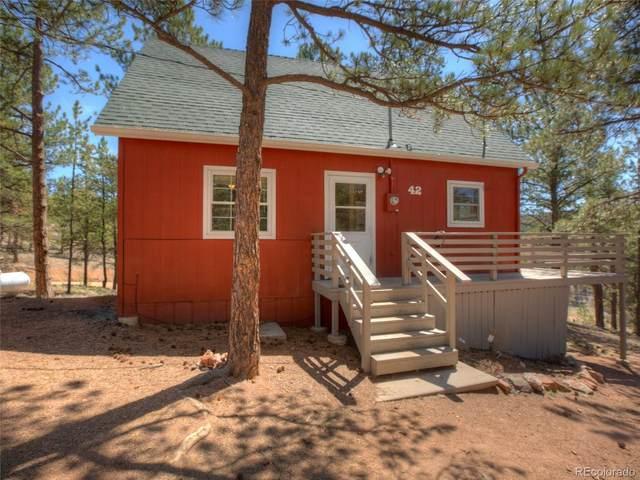 42 Kiowa Creek Trail, Florissant, CO 80816 (#8066701) :: The Colorado Foothills Team | Berkshire Hathaway Elevated Living Real Estate