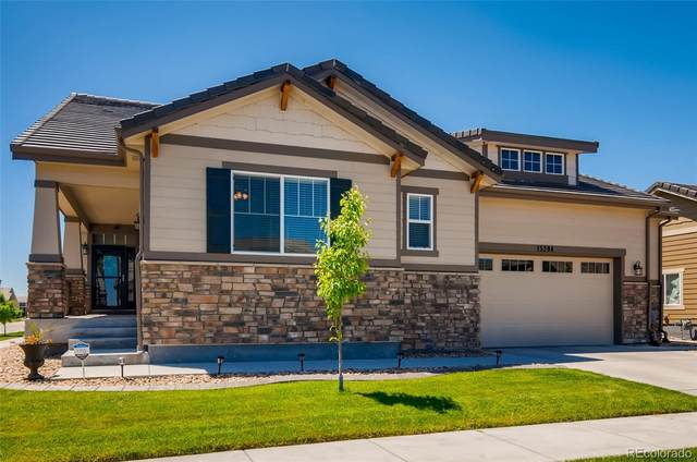15394 E 115th Avenue, Commerce City, CO 80022 (MLS #8070981) :: Clare Day with Keller Williams Advantage Realty LLC