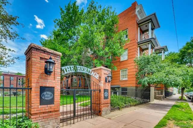 1356 Pearl Street B3, Denver, CO 80203 (#8071658) :: West + Main Homes