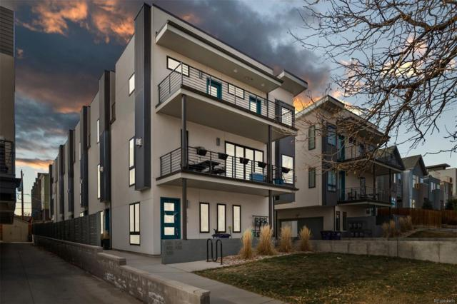 1821 Irving Street #105, Denver, CO 80204 (#8071790) :: 5281 Exclusive Homes Realty
