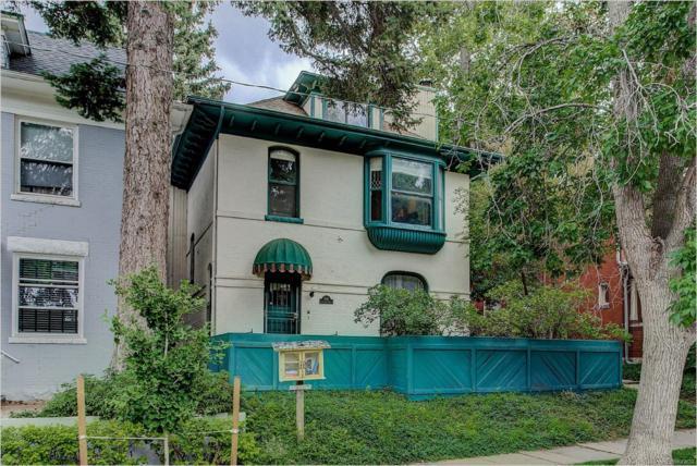 1130 N Lafayette Street #3, Denver, CO 80218 (#8072414) :: Mile High Luxury Real Estate