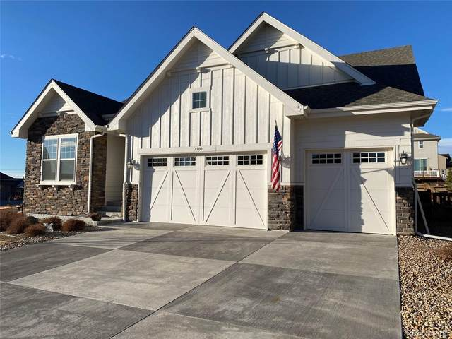 7900 S Flat Rock Way, Aurora, CO 80016 (#8080029) :: The DeGrood Team