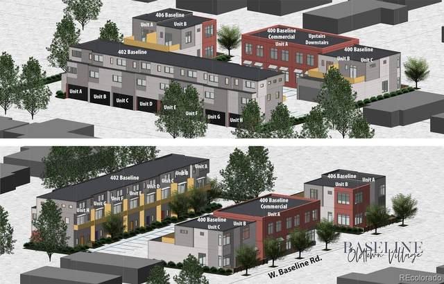 400 W Baseline W Baseline Road B, Lafayette, CO 80026 (#8080654) :: Venterra Real Estate LLC