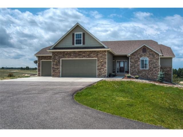 6100 Black Forest Drive, Elizabeth, CO 80107 (MLS #8084760) :: 8z Real Estate