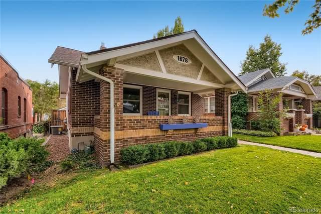 1678 S Washington Street, Denver, CO 80210 (#8089424) :: Venterra Real Estate LLC