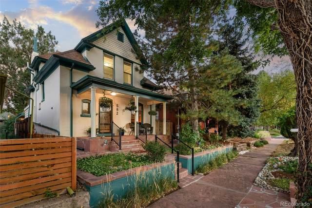 582 S Grant Street, Denver, CO 80209 (#8090941) :: Own-Sweethome Team