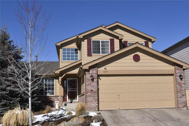 2915 Masters Court, Castle Rock, CO 80104 (#8091475) :: The HomeSmiths Team - Keller Williams