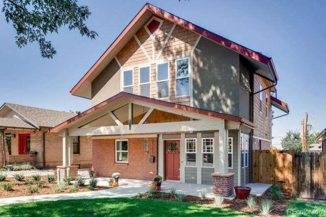 4701 W 34th Avenue, Denver, CO 80212 (#8097038) :: The Peak Properties Group