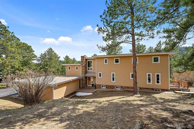 2901 Olympia Lane, Evergreen, CO 80439 (#8098295) :: Mile High Luxury Real Estate
